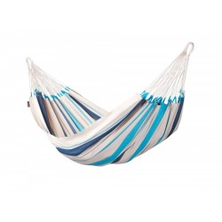 Hamak La Siesta jednoosobowy Caribena aqua blue