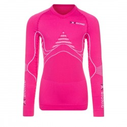 Juniorski Longsleeve Termoaktywny XBIONIC Energy Accumulator Woman Shirt Pink