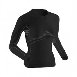 Longsleeve Termoaktywny XBIONIC Energy Accumulator Woman Shirt Black