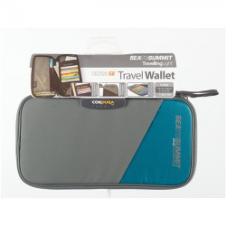 Portfel Travel Wallet RFID S blue/grey