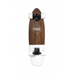 Cruiser Pixel Woody White