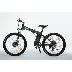 Rower hybrydowy elektryczny Trybeco COMPACTA 26 (składany) Black Matt