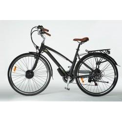 Rower hybrydowy elektryczny Trybeco LUNA 28 Black Matte