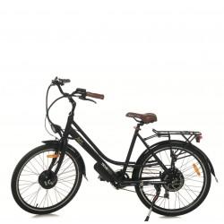 Rower hybrydowy elektryczny Trybeco Luca 26 Black Matte