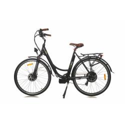 Rower hybrydowy elektryczny Trybeco LUCY 28 Black Matte