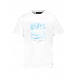 T-shirt Picture Organic Clothing D&S TRAIL White