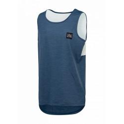 Tank Picture Organic Clothing Jacker Tech Dark blue