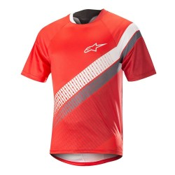 Jersey Alpinestars Racer S/S Red/black