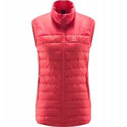 Kamizelka Haglofs Spire Mimic Vest Women Hibiscus Red