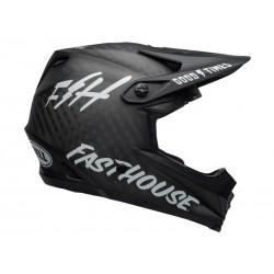 Kask Bell Full 9 Carbon Fasthouse Matte Black White