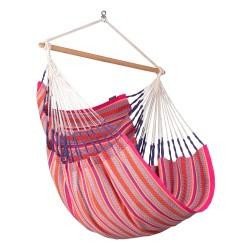 Fotel hamakowy La Siesta Habana Comfort Flamingo