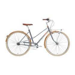 Rower Creme Caferacer Lady Doppio Gray Rose 7s
